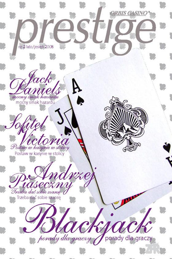 Prestige magazine 2/2008 - cover