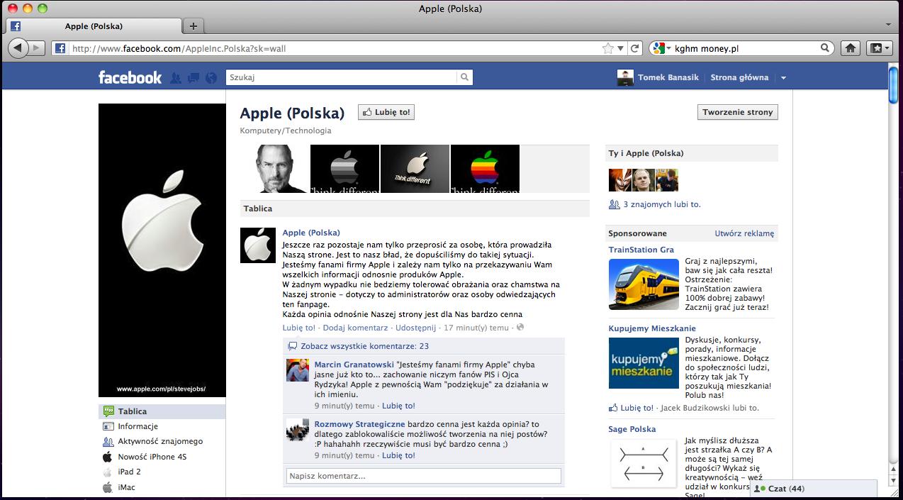 RIP Apple Polska